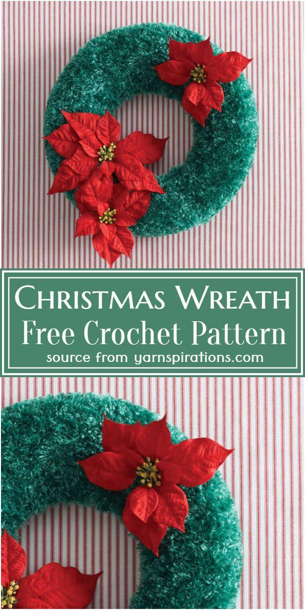Christmas Wreath Crochet Pattern