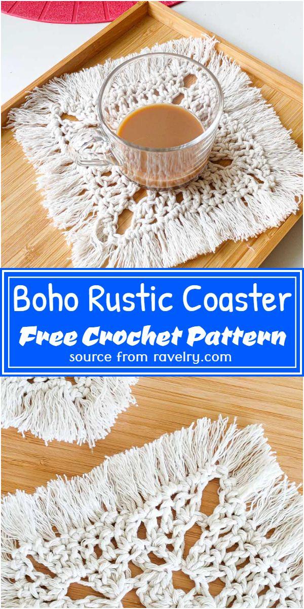 Rustic Coaster Pattern