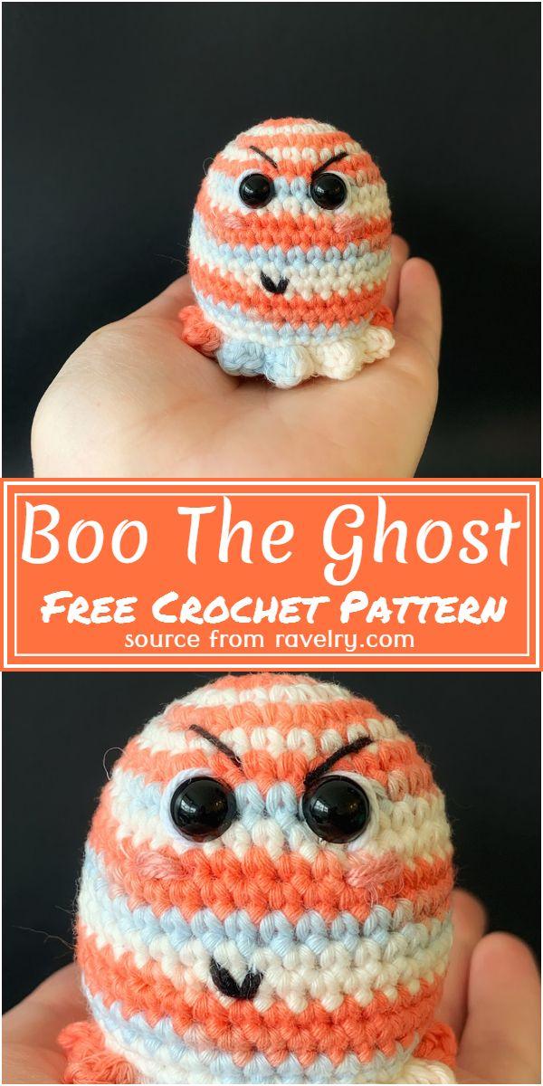 Crochet Boo The Ghost Pattern