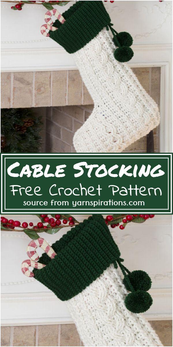 Stocking Free Pattern