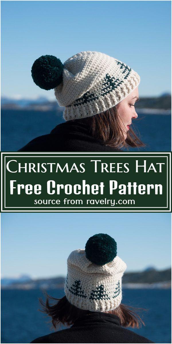 Christmas Trees Free Pattern