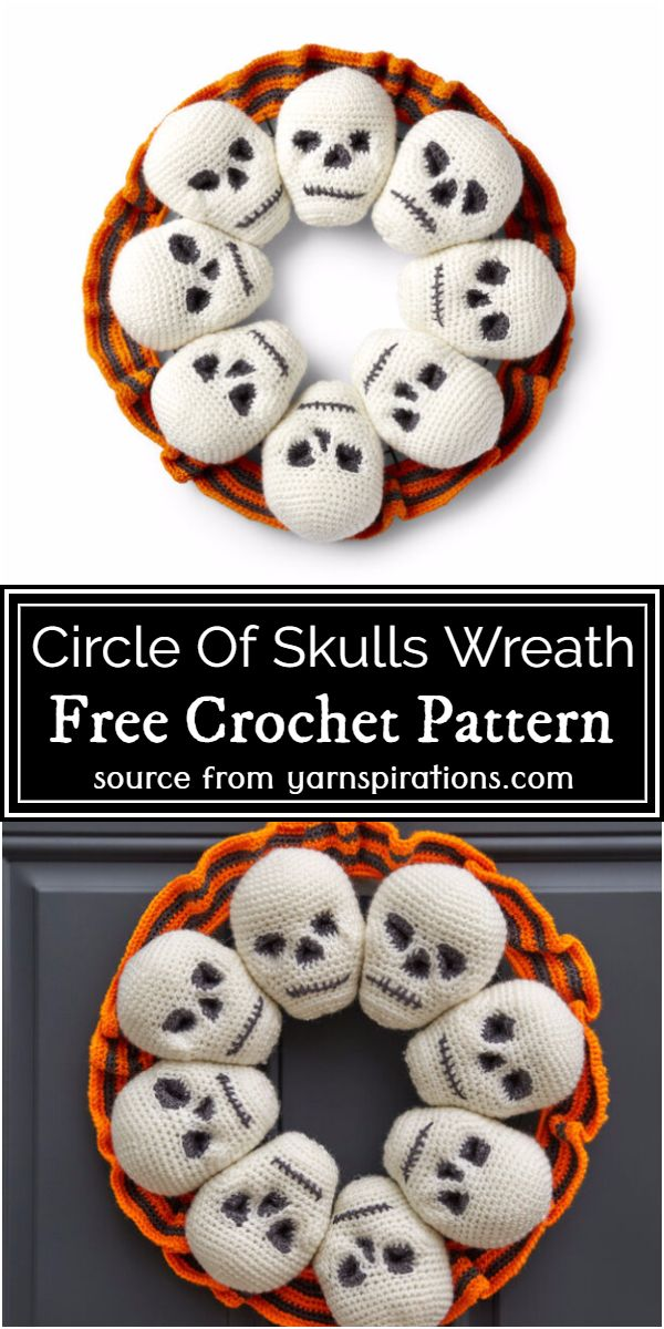 Circle Of Wreath Pattern
