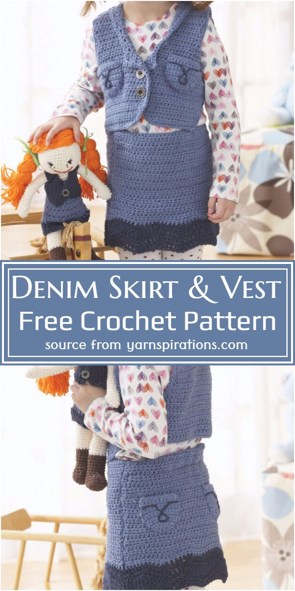 Skirt & Vest Free Pattern