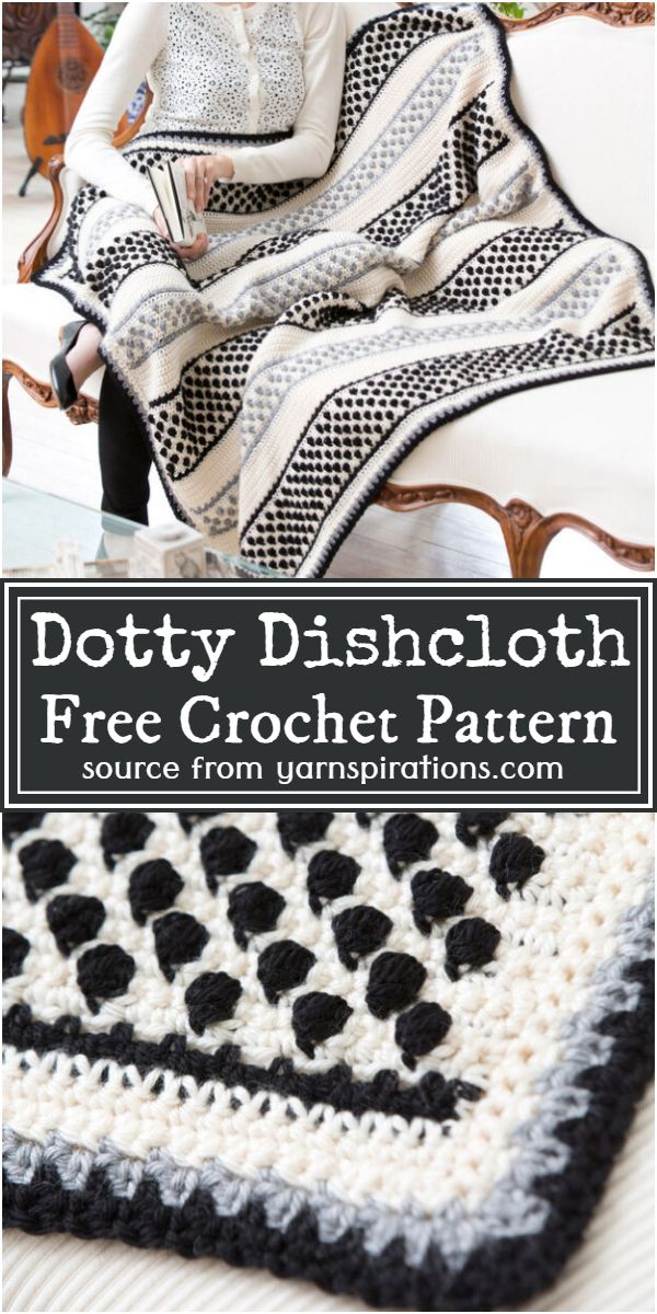 Dottie Throw Free Pattern
