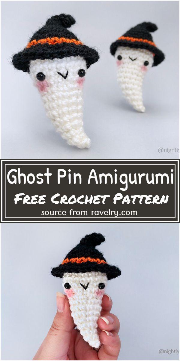 Pin Amigurumi Pattern