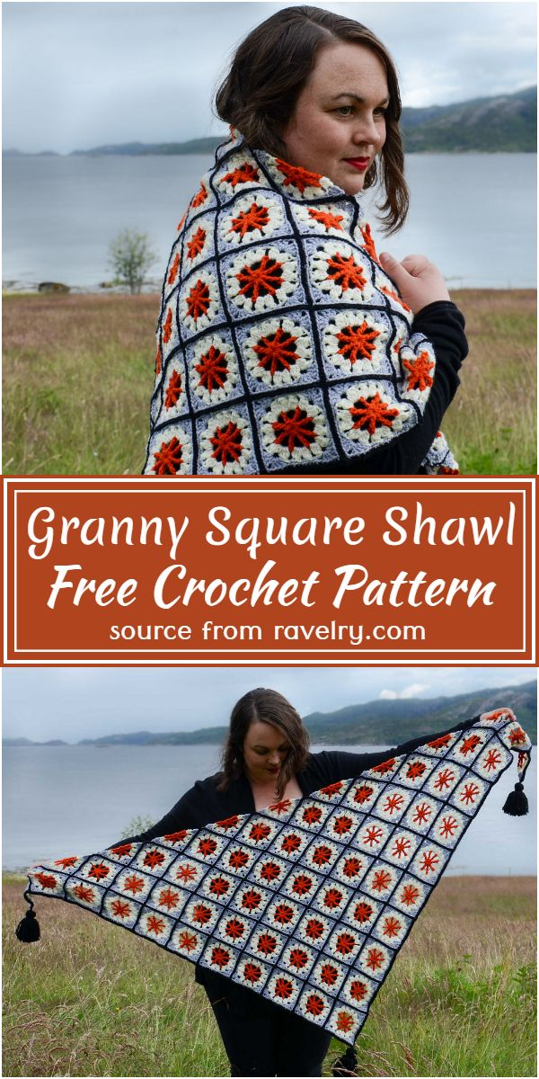 Square Shawl Pattern