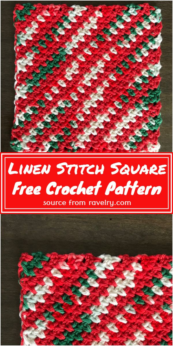 Stitch Square Free Pattern