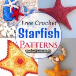 Free Crochet Starfish Patterns To Beautify Your Home