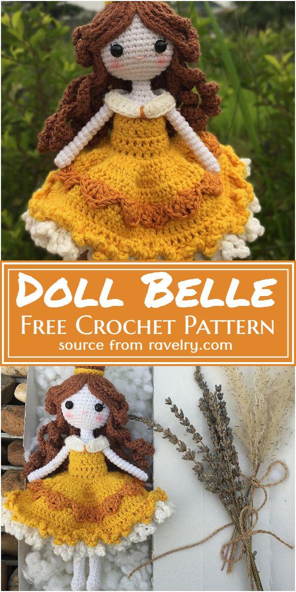 Doll Belle Crochet Pattern