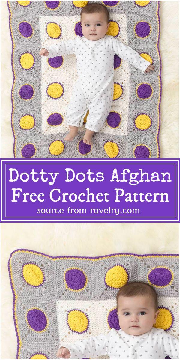Dots Afghan Pattern