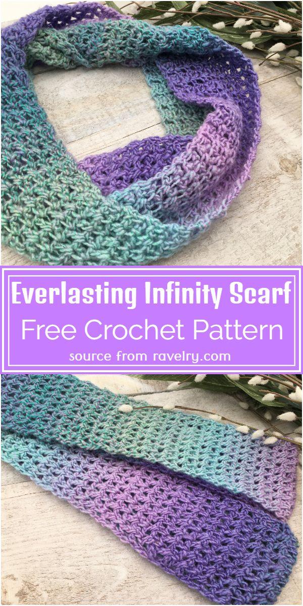 Everlasting Infinity Scarf Crochet Pattern