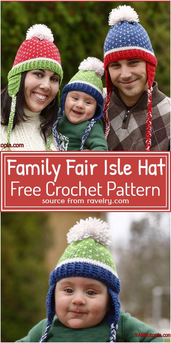 Family Hat Pattern