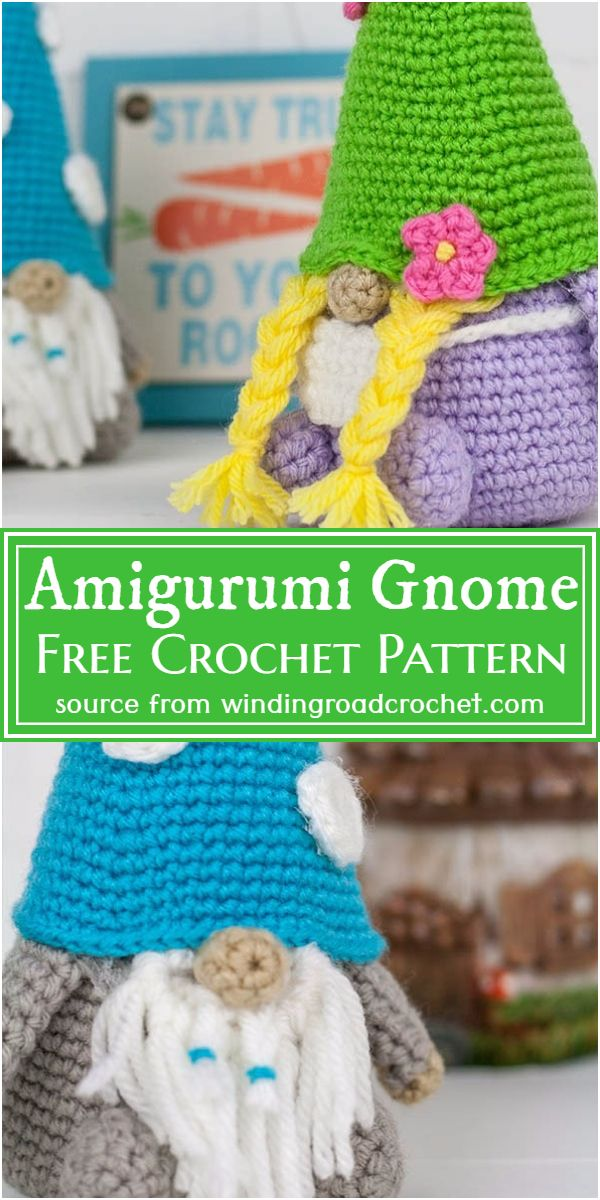 Free Crochet Amigurumi Gnome Pattern