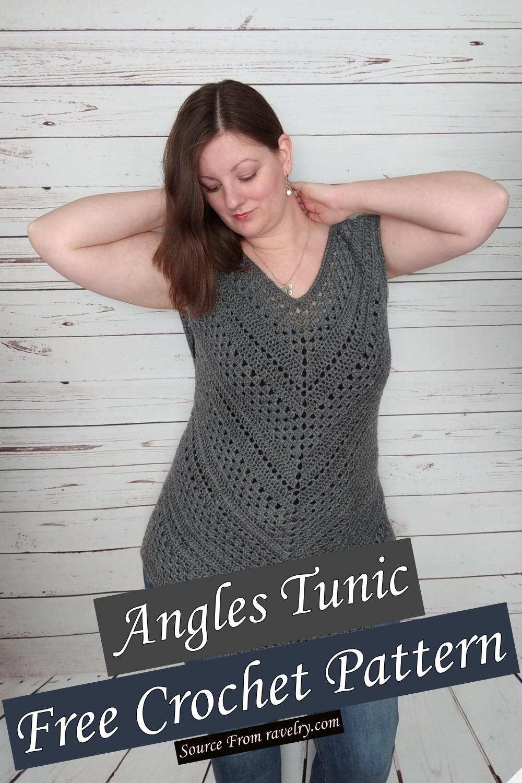 Free Crochet Angles Tunic Pattern