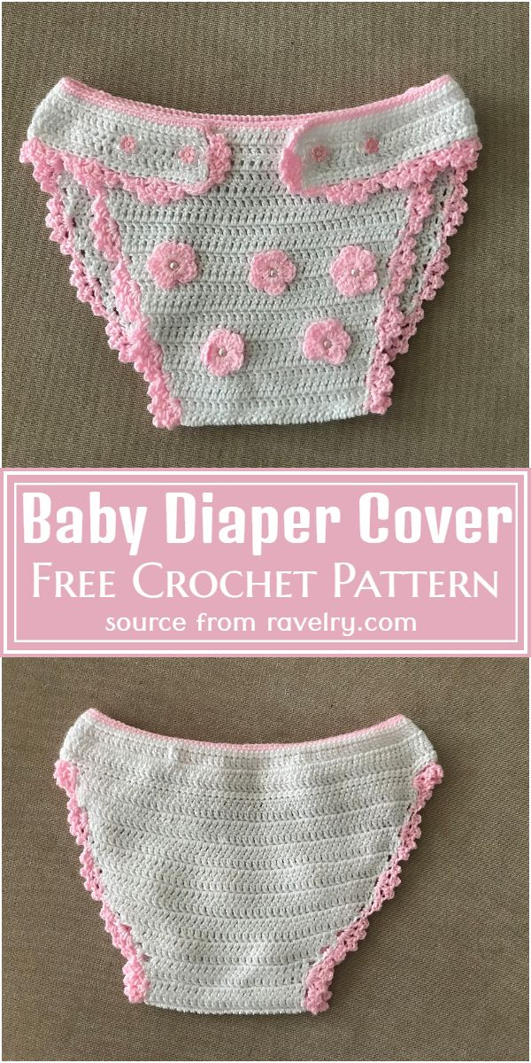 Free Crochet Baby Diaper Cover Pattern