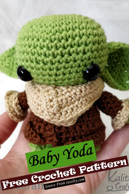 Free Crochet Baby Yoda Pattern
