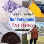 Cozy And Warm Free Crochet Basketweave Patterns
