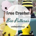 Unique And Cute Free Crochet Bee Patterns