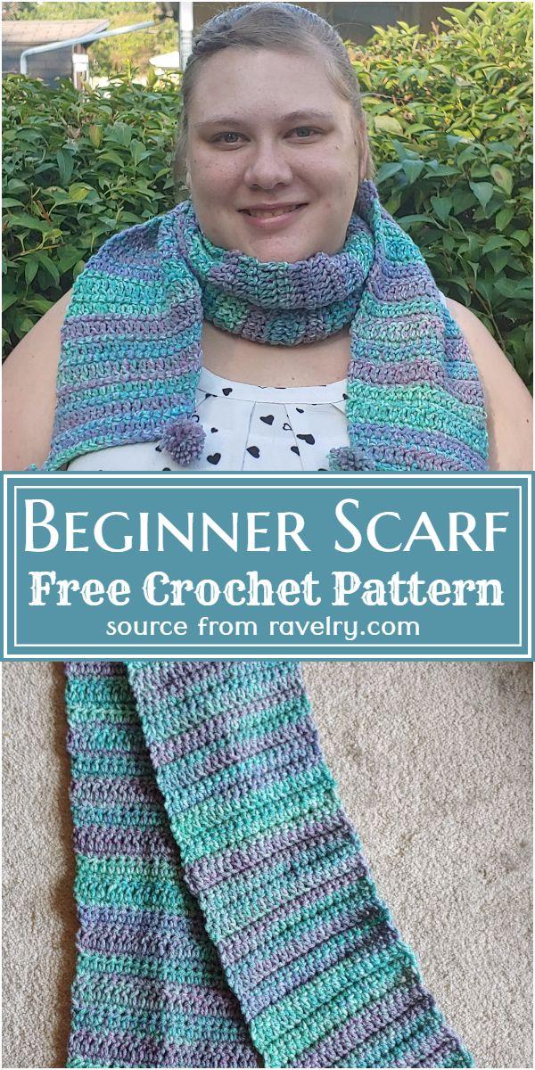 Free Crochet Beginner Scarf Pattern