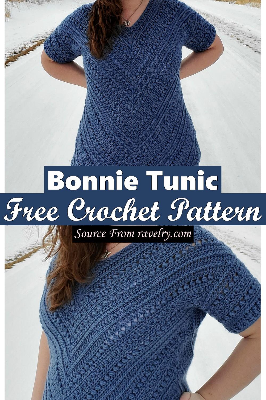 Free Crochet Bonnie Tunic Pattern