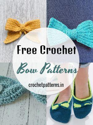 Free Crochet Bow Patterns