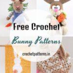 40 Free Crochet Bunny Patterns