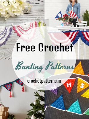 Free Crochet Bunting Patterns