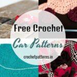 Cute Free Crochet Car Patterns For Kids