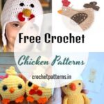 Superb And Cute Free Crochet Chicken Patterns