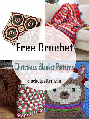 Free Crochet Christmas Blanket Patterns