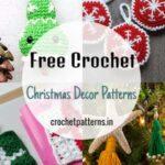 Free Crochet Christmas Decor Patterns