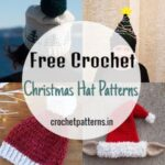 Adorable Free Crochet Christmas Hat Patterns