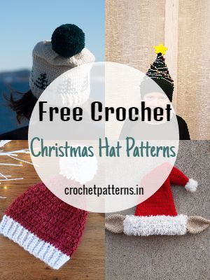 Free Crochet Christmas Hat Patterns