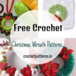 Free Crochet Christmas Wreath Patterns