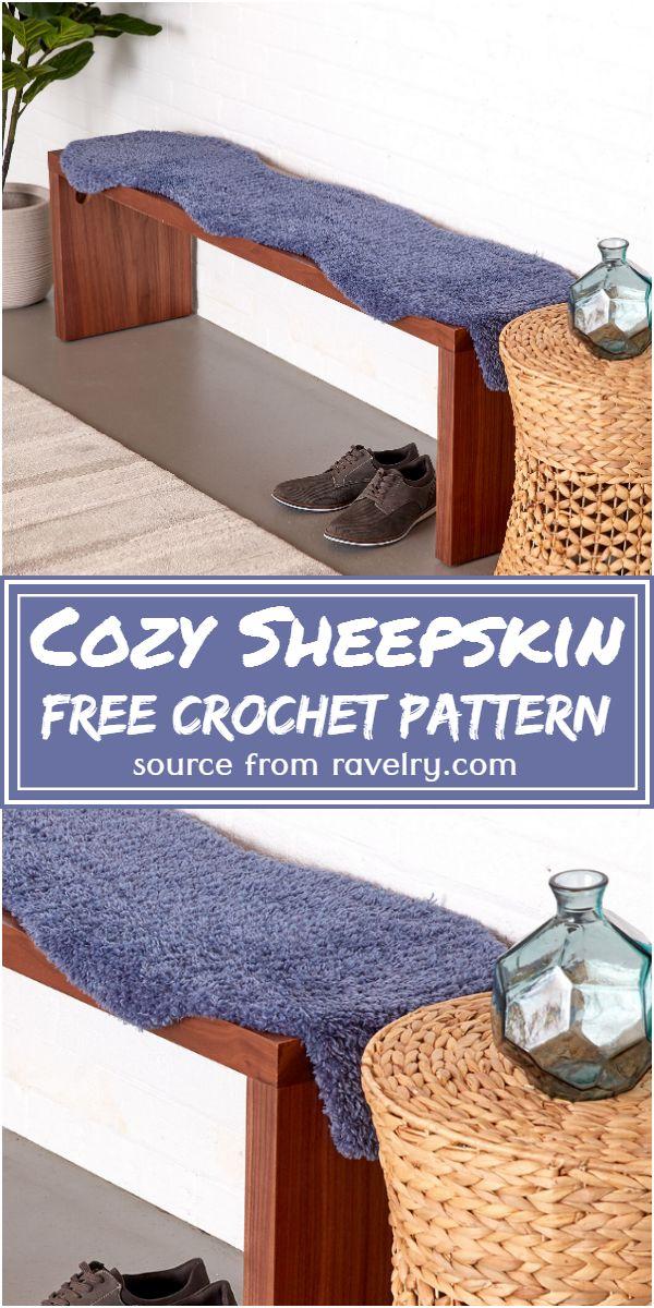 Free Crochet Cozy Sheepskin Pattern