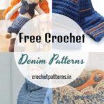 Unique And Adorable Free Crochet Denim Patterns