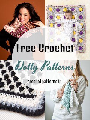 Free Crochet Dotty Patterns