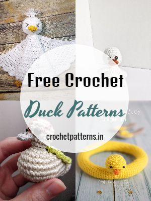 Free Crochet Duck Patterns