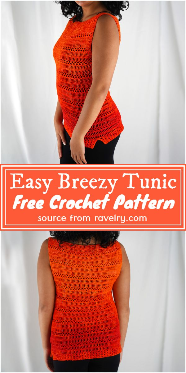 Free Crochet Easy Breezy Tunic Pattern