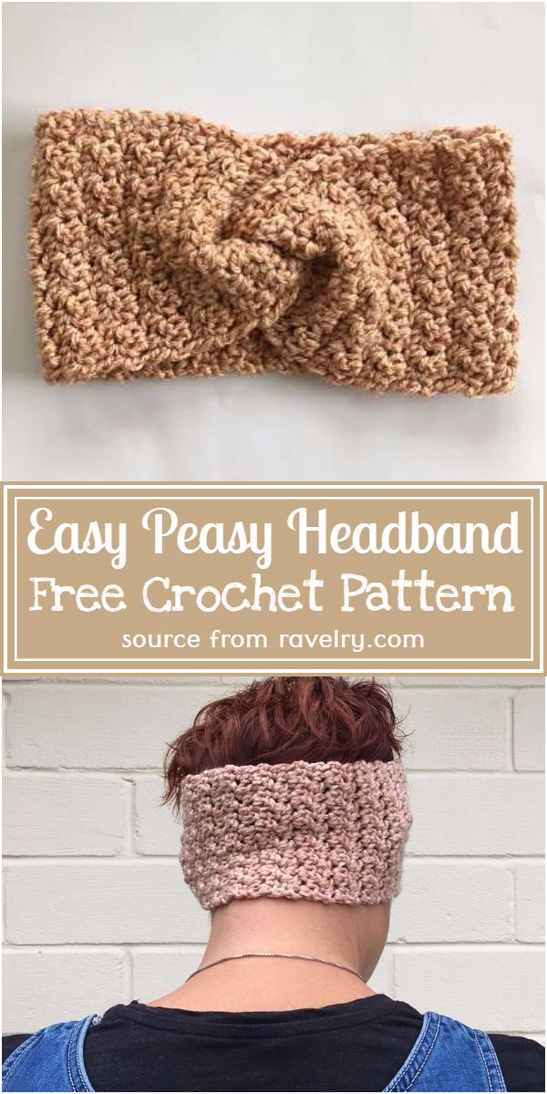 Free Easy Headband Pattern