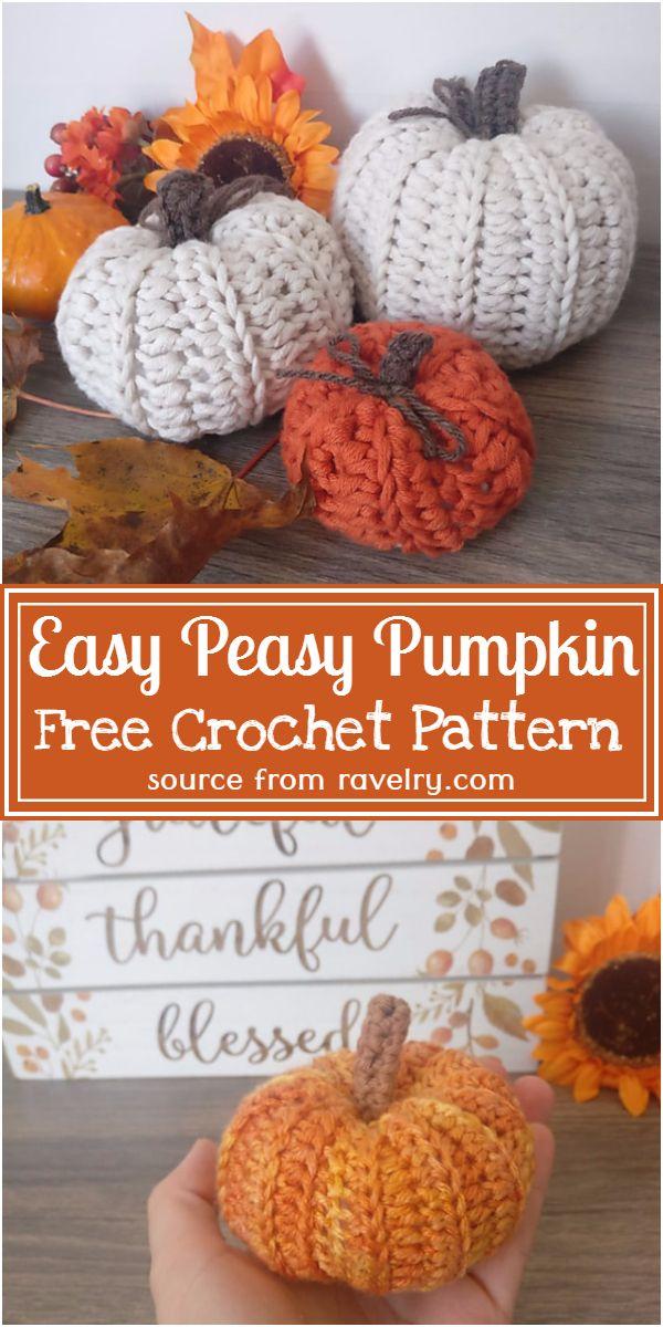 Free Easy Pumpkin Pattern