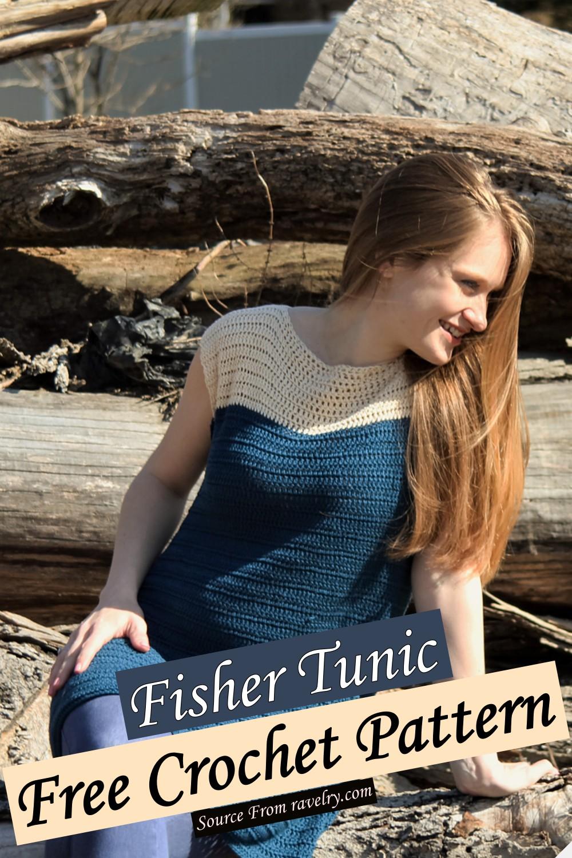 Free Crochet Fisher Tunic Pattern
