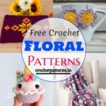 Lovely And Adorable Free Crochet Floral Patterns