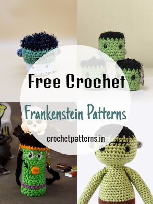 Free Crochet Frankenstein Patterns