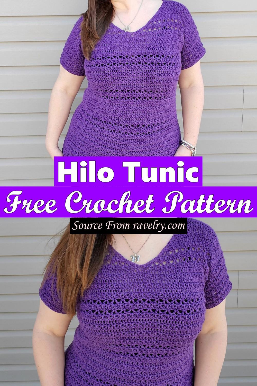 Free Crochet Hilo Tunic Pattern