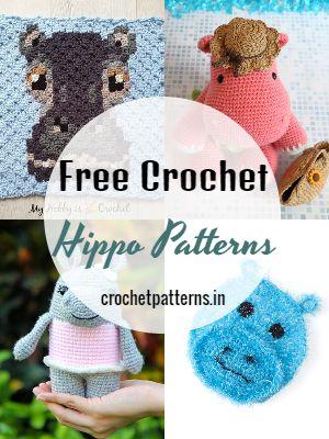 Free Crochet Hippo Patterns