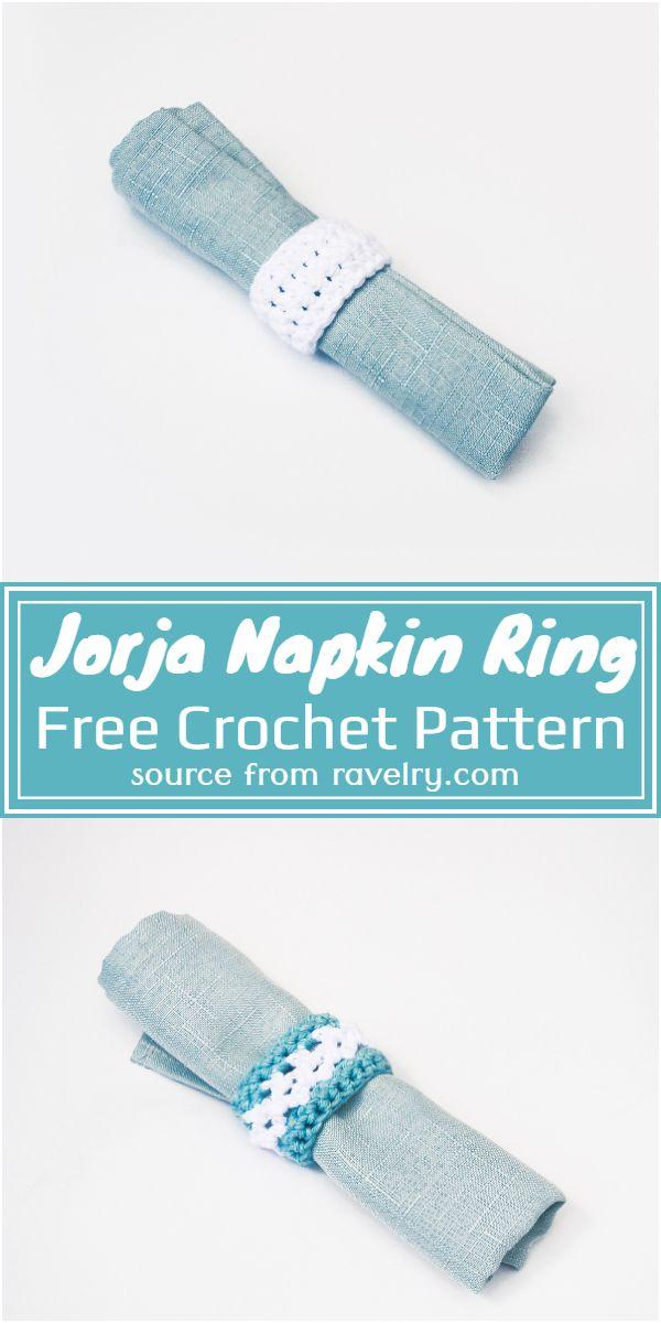 Free Crochet Jorja Napkin Ring Pattern