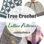 Trending Free Crochet Lattice Patterns For Adding Fun And Adorability To Your Home Decor