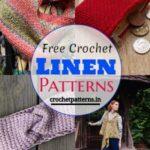 Free Crochet Linen Patterns - How To Crochet Linen Stitch