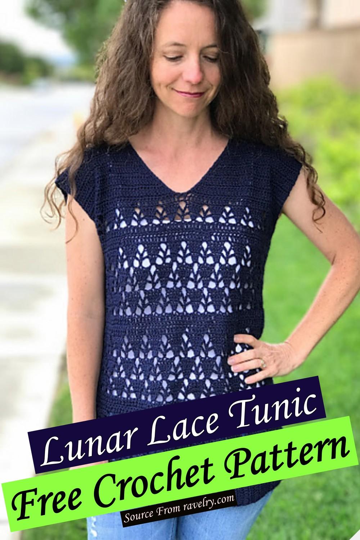 Free Crochet Lunar Lace Tunic Pattern